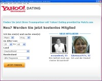 Dating+Personals+Yahoo Yahoo Personals! Home Page circa 1998 - Dating ...