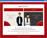 LOVEPOINT.de im Partnerbörsen Vergleich