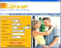 Singlebörse www.ILOVE.de im Vergleich